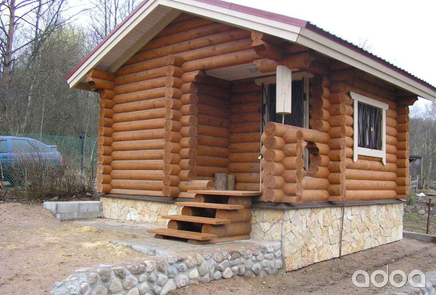 проведения баня из бревна в калужской области Полынь
