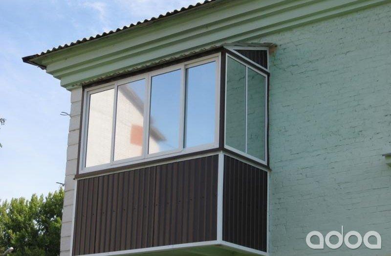 Балкони під ключ: рівне - ціни, фото, замовити балкон під кл.