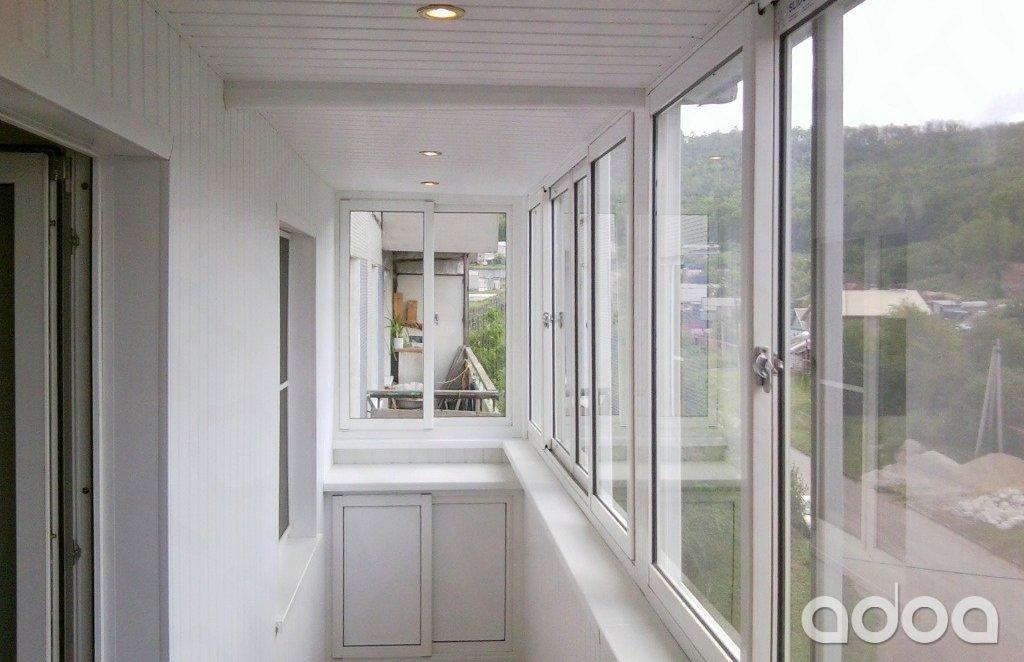 Остекление, отделка и утепление балконов и лоджий - объявлен.