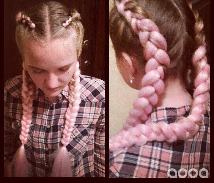 Плетение кос с канекалоном цена