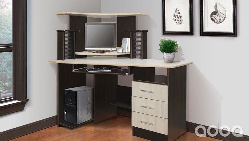 Компьютерный стол каспер (новый) (силинмебель) - объявление .