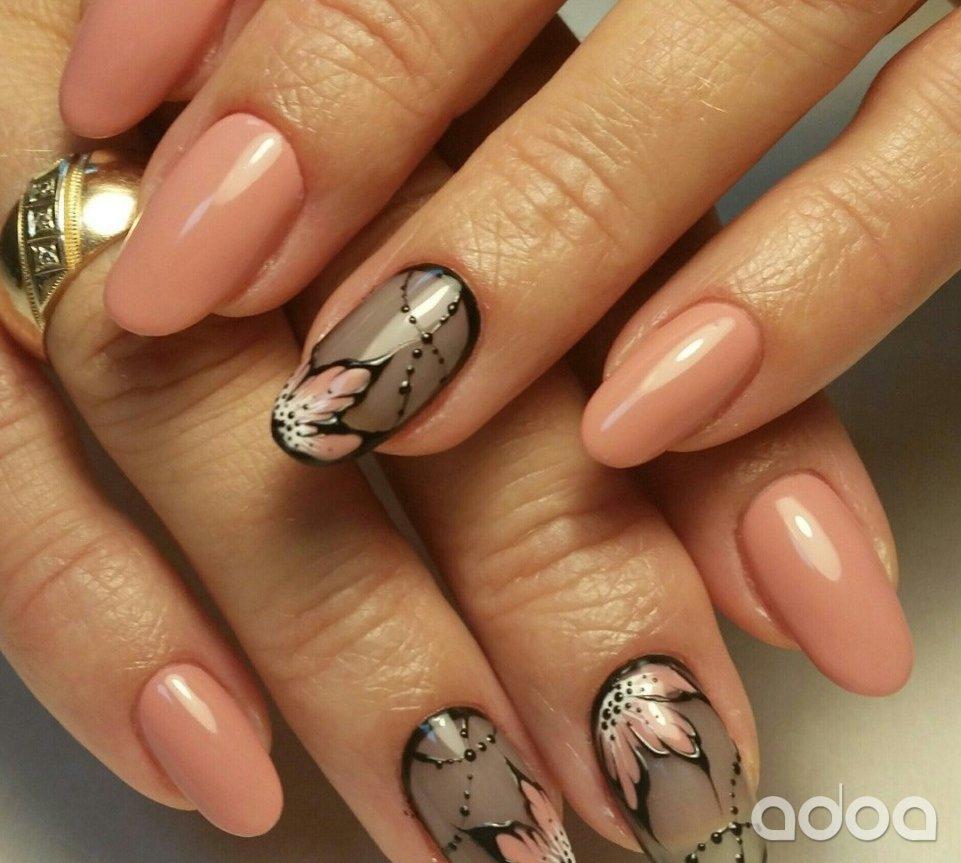 Маникюр на короткие ногти (100 фото)