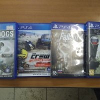 Fallout 4,The last guardian,The crew, Sony ps4