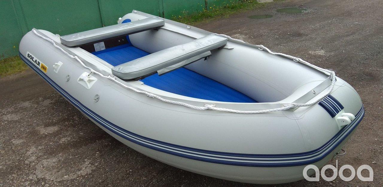 стоимость лодки пвх солар 380