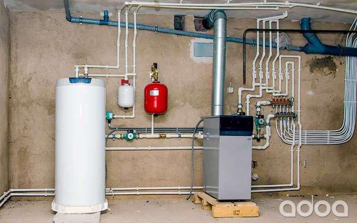Отопление и водоснабжение дома своими руками